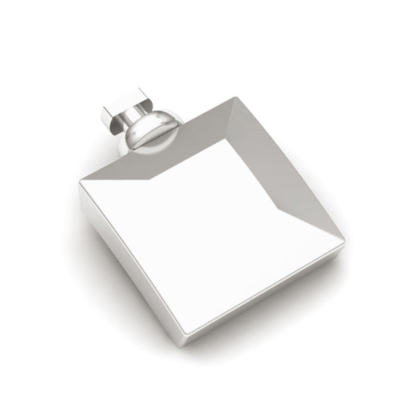 Duo Interchangeable Square Shape Charm