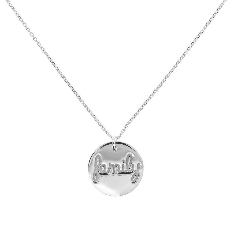 Family Plaque Necklace