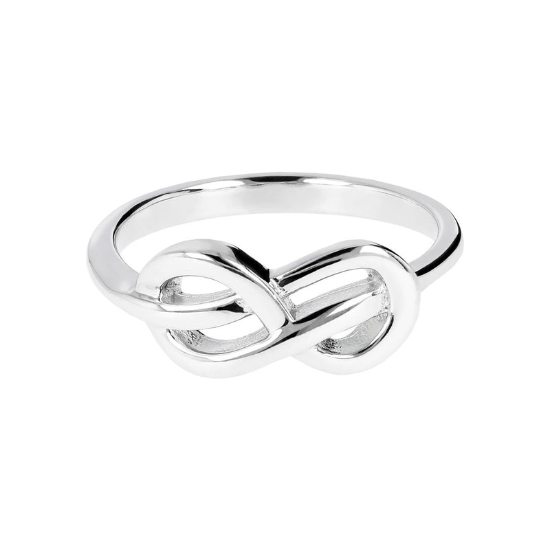 Infinity ring setting