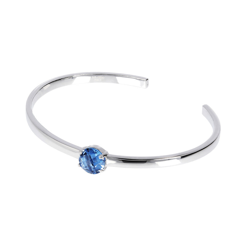 OVER THE RAINBOW PRISMA GEMSTONE CUFF BANGLE - WSBC00200