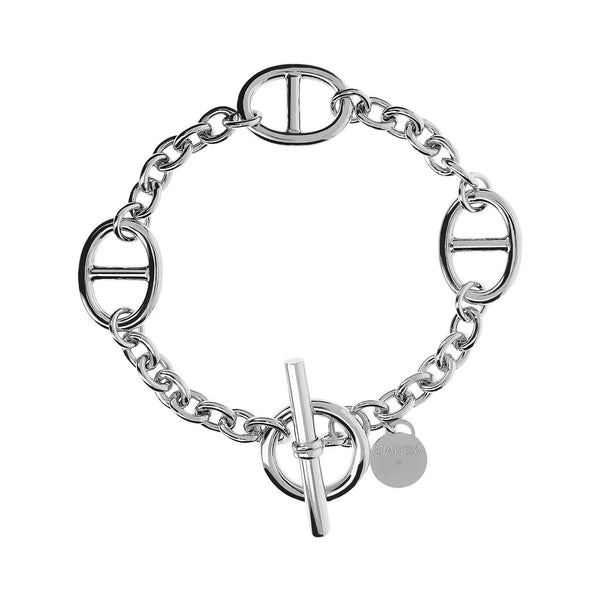 Rolò Bracelet with Marine Links