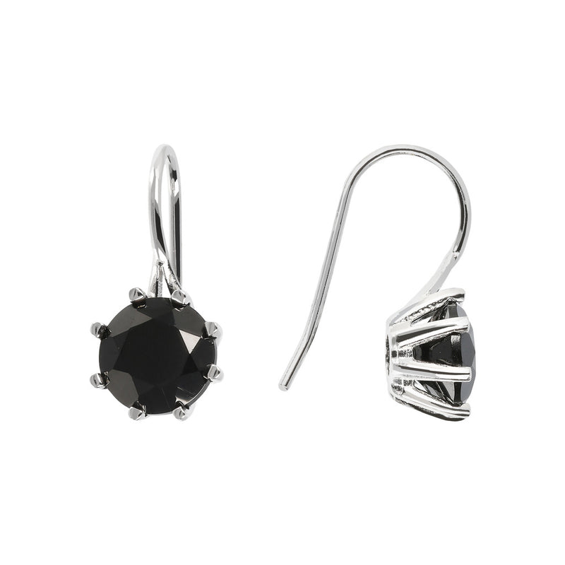 SPICE IT UP GLAMLINE GEMSTONE EARRINGS - WSBC00204 front and side