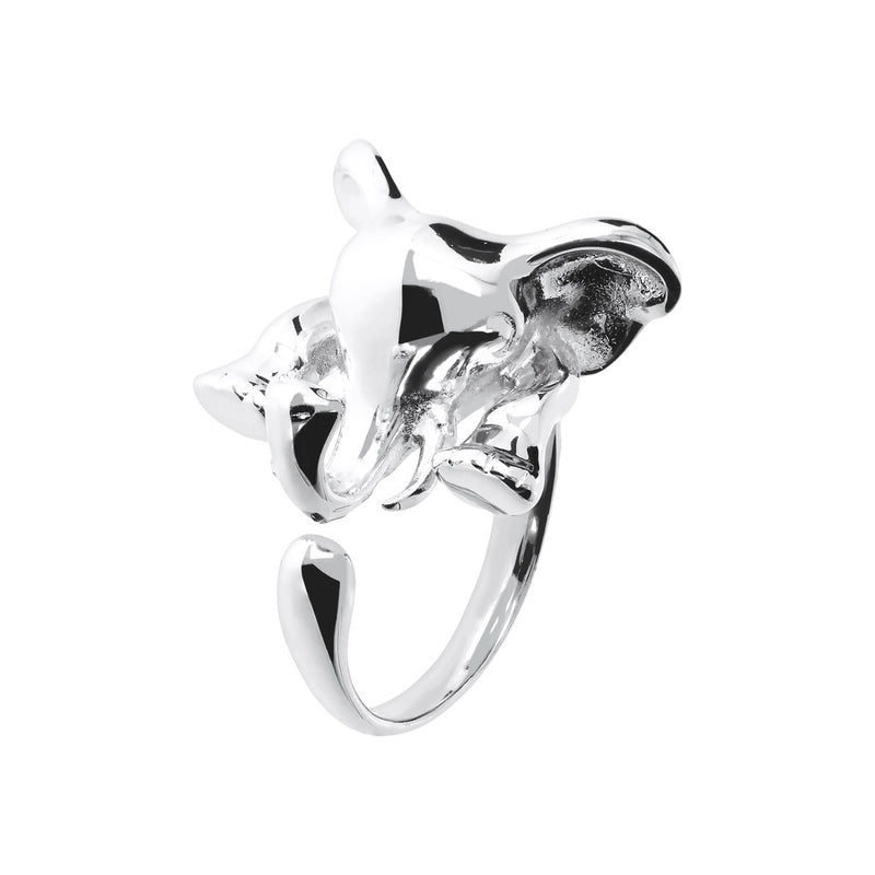 SPICE IT UP SPECIAL MYESSENTIALS BIANCA MILANO SHINY SHARK RING - ELEPHANT - WSBC00103