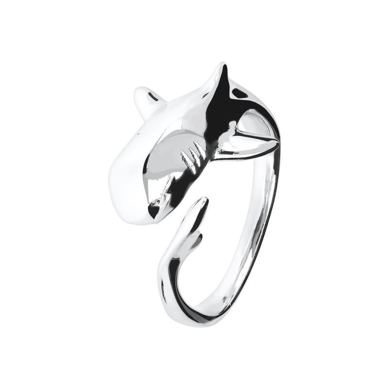 SPICE IT UP SPECIAL MYESSENTIALS BIANCA MILANO SHINY SHARK RING - SHARK - WSBC00103