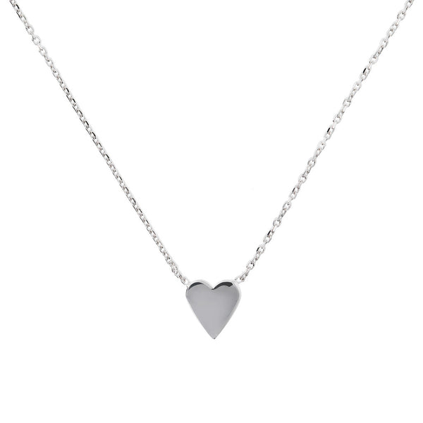 SPICE IT UP SPECIAL SHINY HEART FORZATINA NECKLACE - HEART - WSBC00189