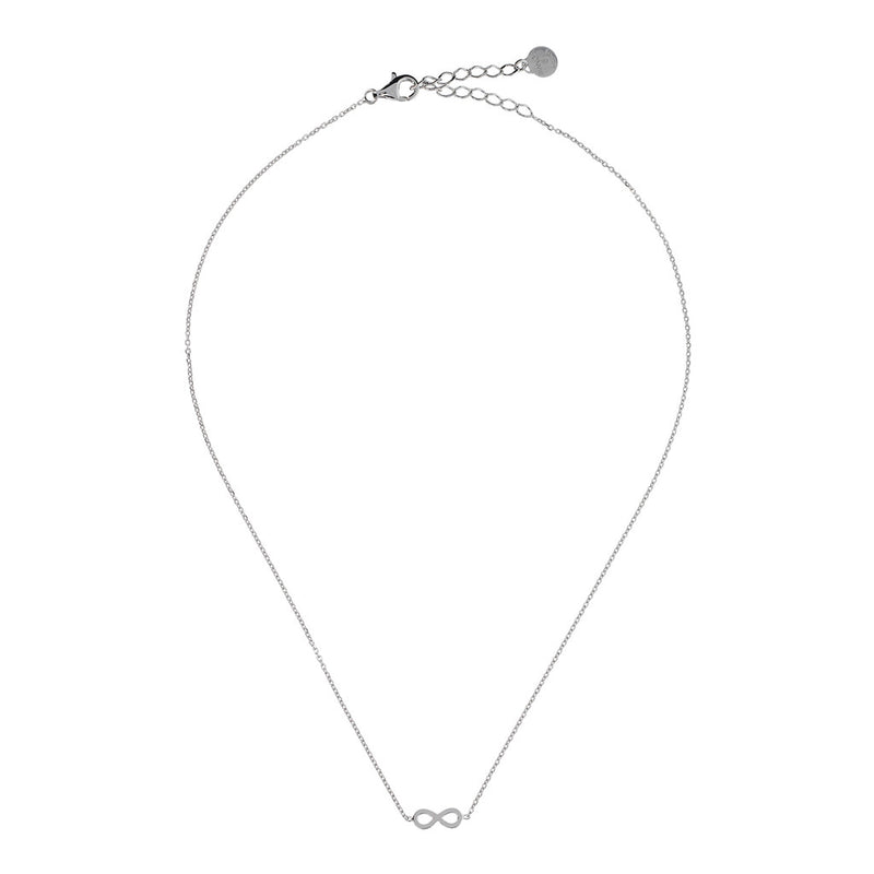 SPICE IT UP SPECIAL SHINY HEART FORZATINA NECKLACE - INFINITY - WSBC00189 from above