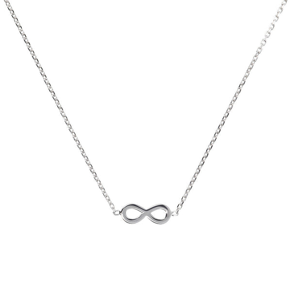 SPICE IT UP SPECIAL SHINY HEART FORZATINA NECKLACE - INFINITY - WSBC00189