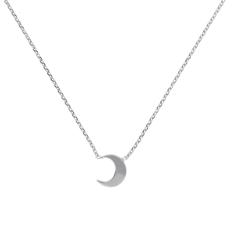 SPICE IT UP SPECIAL SHINY HEART FORZATINA NECKLACE - MOON - WSBC00189