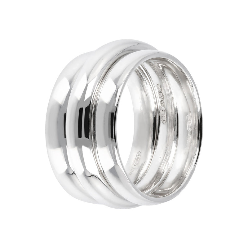 SUCH A PERFECT DAY MYESSENTIALS BIANCA MILANO SET OF 3 BAND RINGS - WSBC00106 setting