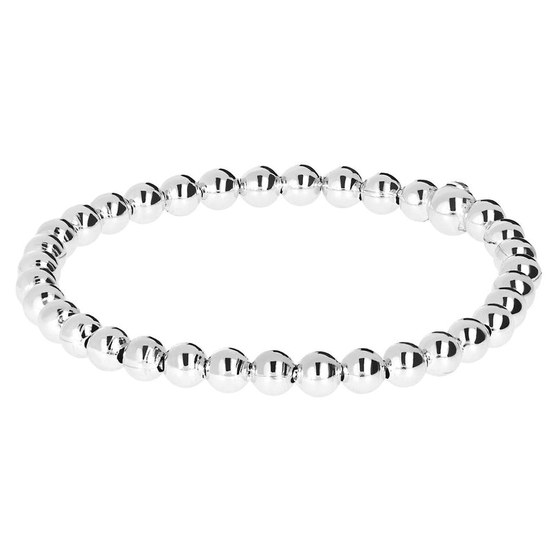 SUCH A PERFECT DAY MYESSENTIALS BIANCA MILANO SHINY BEADED STRETCHABLE BRACELET - WSBC00126