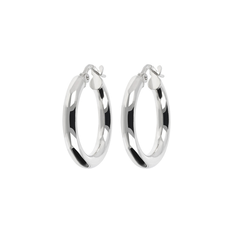 SUCH A PERFECT DAY MYESSENTIALS BIANCA MILANO  SHINY HOOP EARRING - WSBC00065