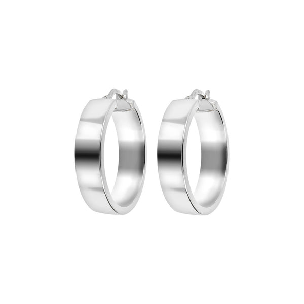 SUCH A PERFECT DAY MYESSENTIALS BIANCA MILANO SHINY ROUND HOOP EARRINGS - WSBC00063