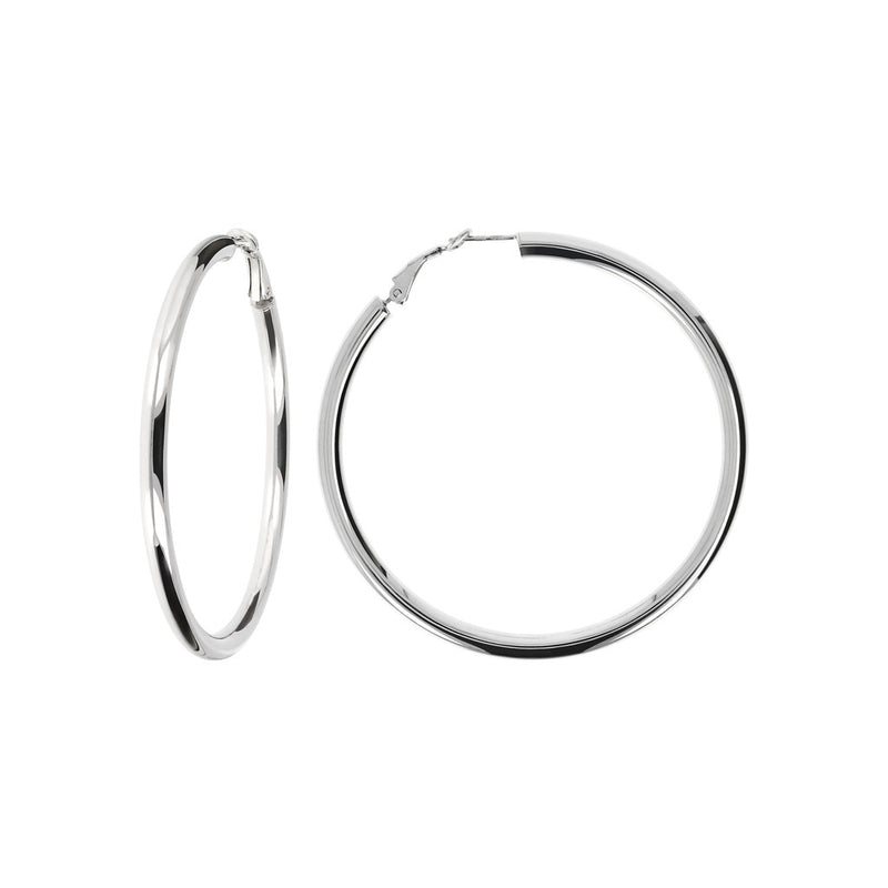 SUCH A PERFECT DAY MYESSENTIALS  HOOP EARRINGS - WSBC00071 front and side