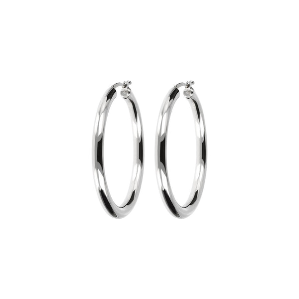 SUCH A PERFECT DAY MYESSENTIALS ROUND HOOP EARRINGS - WSBC00070