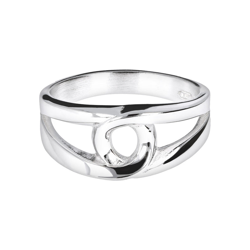 SUCH A PERFECT DAY MYESSENTIALS interlaced element RING - WSBC00101 setting