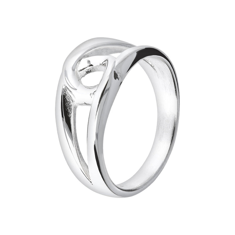SUCH A PERFECT DAY MYESSENTIALS interlaced element RING - WSBC00101