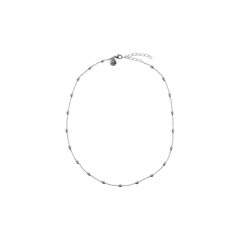 SUCH A PERFECT DAY MYESSENTIALS polished OVAL bead STATION bracelet - WSBC00171 from above