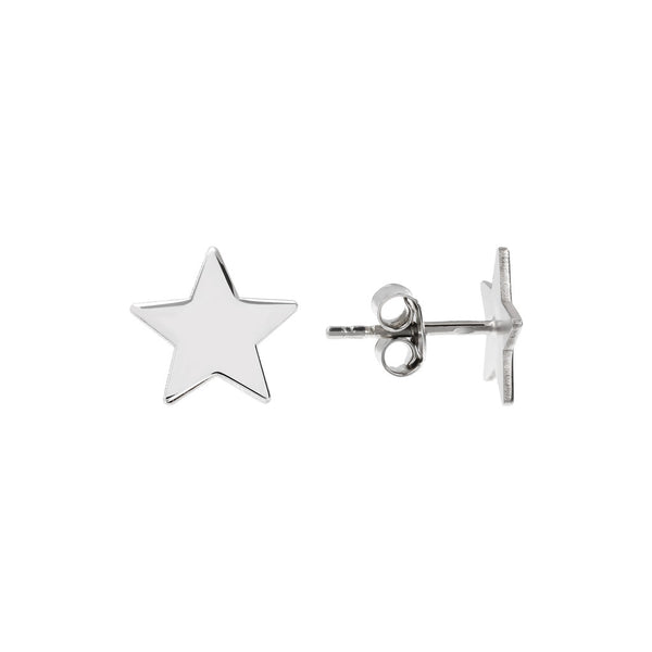 Star Earrings front and side