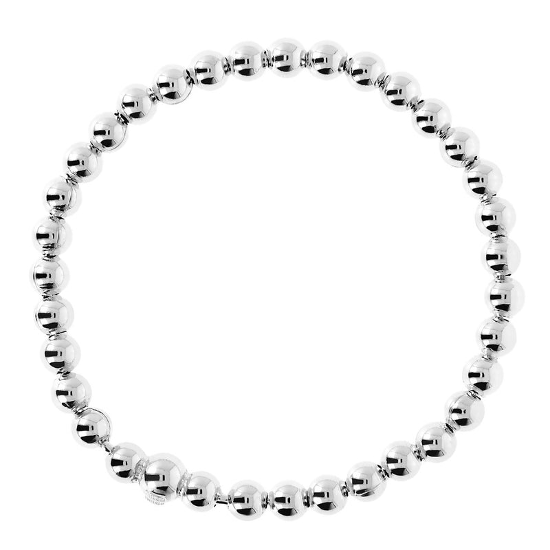 chain SUCH A PERFECT DAY MYESSENTIALS BIANCA MILANO SHINY BEADED STRETCHABLE BRACELET - WSBC00126