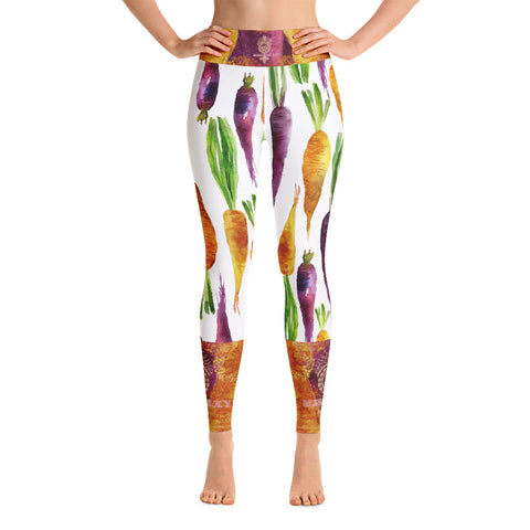 """VEGAN"" Leggings by Miss.Sexy (Inspired by Carrots)"