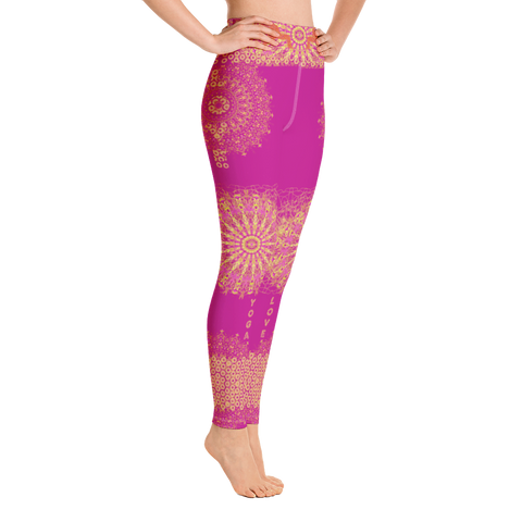Image of Yoga Leggings  - Pink