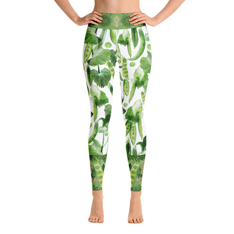 """VEGAN"" Leggings by Miss.Sexy (Inspired by Peas)"