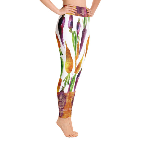"Image of ""VEGAN"" Leggings by Miss.Sexy (Inspired by Carrots)"