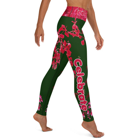 Image of Exclusive Holiday Yoga Leggings by Miss.Sexy