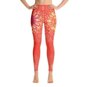 """YOGA"" by Miss.Sexy - Exclusive Yoga Leggings for your passion for YOGA - (vibrant bright shade)"