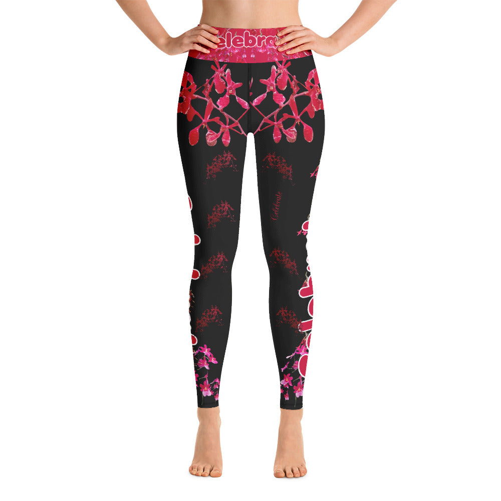 Exclusive Holiday Yoga Leggings by Miss.Sexy