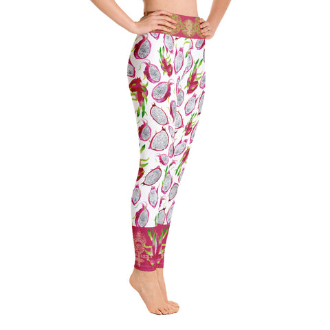 "Image of ""VEGAN"" Leggings by Miss.Sexy (Inspired by Dragon Fruits)"