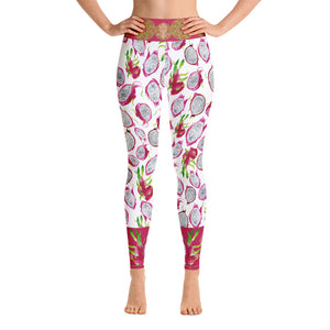 """VEGAN"" Leggings by Miss.Sexy (Inspired by Dragon Fruits)"