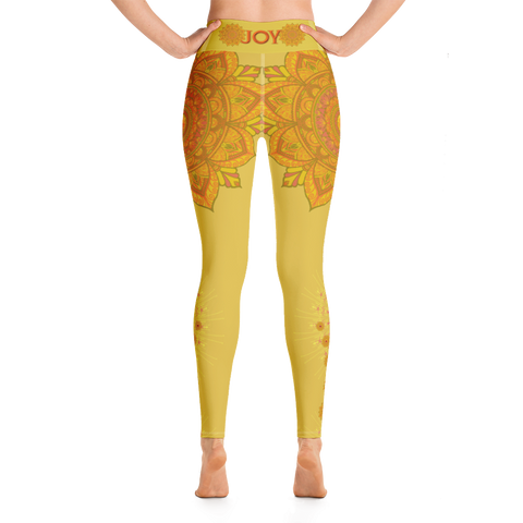 Image of Yoga Leggings  -  Sandalwood Color