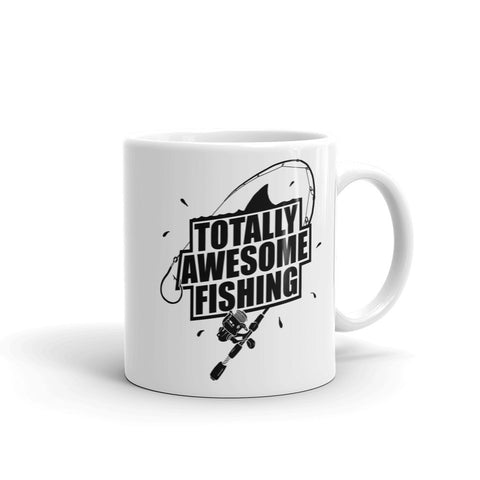 TOTALLY AWESOME FISHING MUG