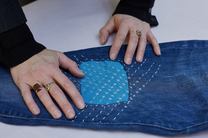 Sashiko: Repair and revive your denim with this technique