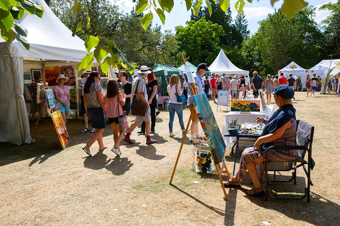 Art in the Park and Yodomo: Demos and workshops