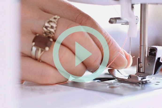 Watch: How to thread up a sewing machine with Barley Massey