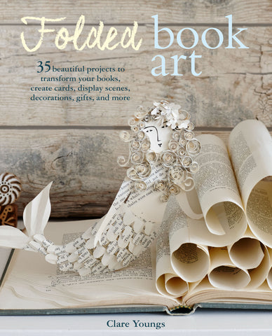 Clare Young Folded Book Art Cover