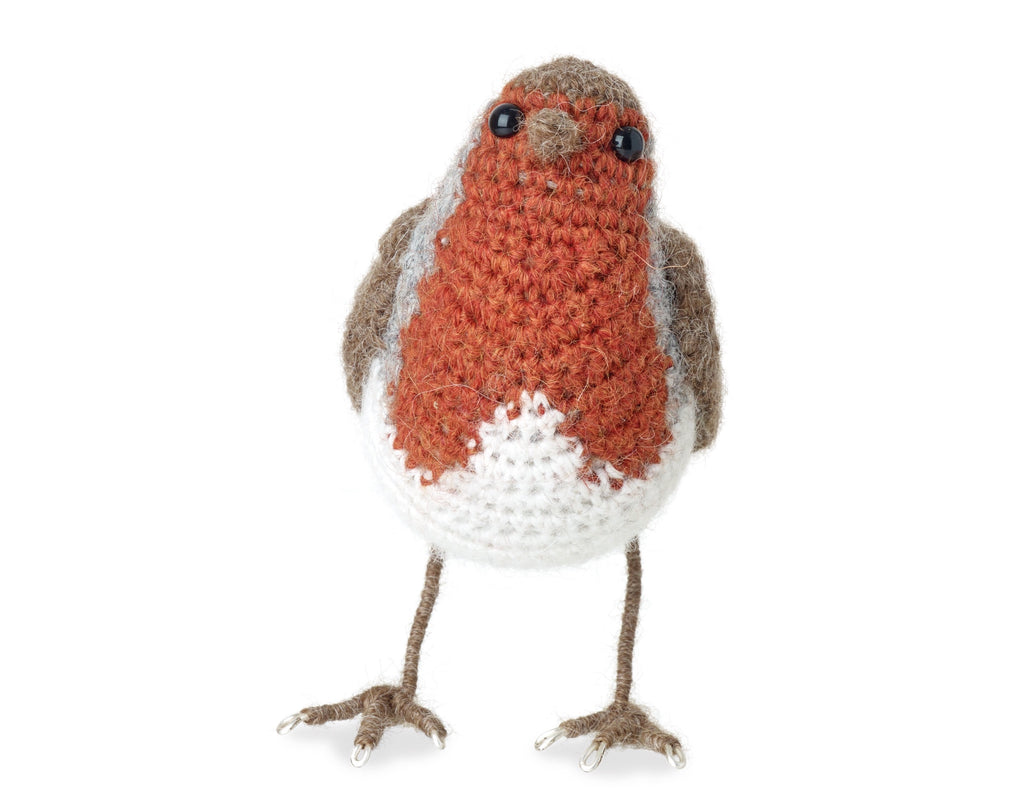 Crochet Robin completed