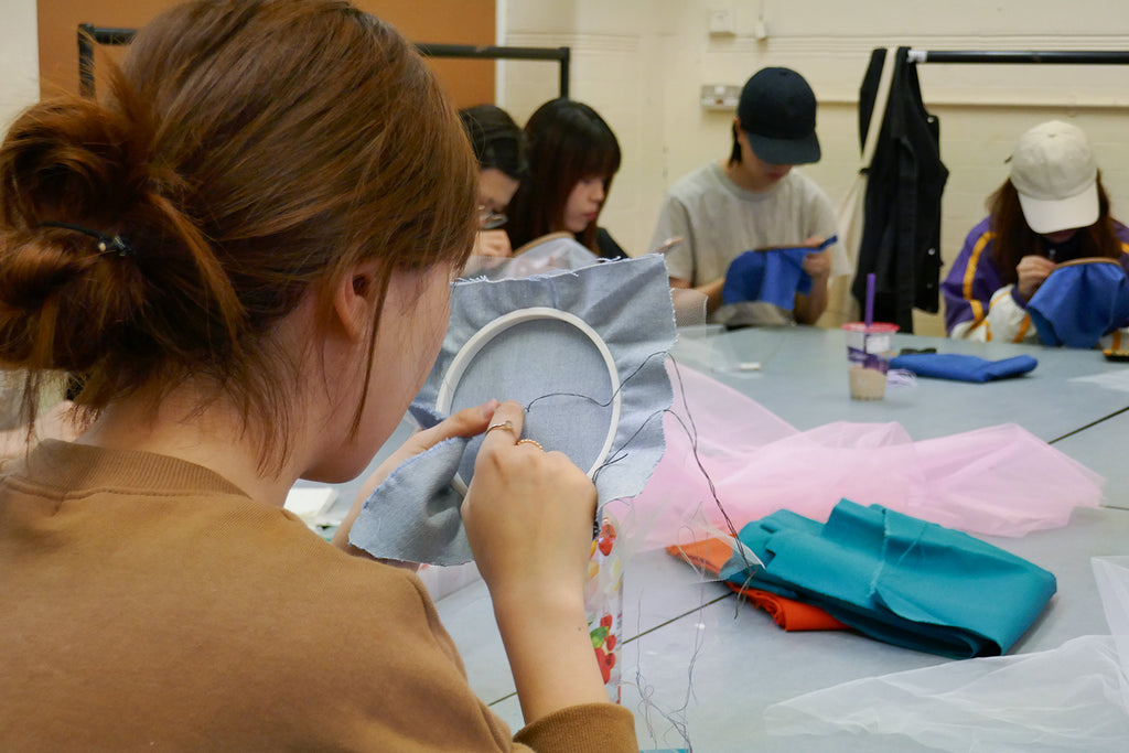 London college of fashion embroidery workshop