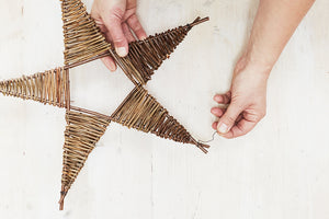 Make a willow star