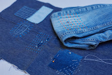 Load image into Gallery viewer, Repair your denim with sashiko