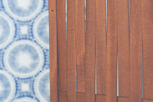 Make wooden window shutters