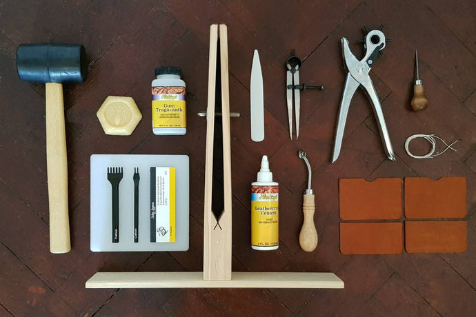 Learn Leathercraft & Make a Leather Card Case: Course + Full Kit