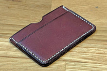 Load image into Gallery viewer, Learn Leather Craft & Make a Leather Card Case: Kit + Video + Guide