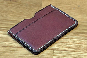 Learn Leathercraft and Make a Leather Card Case