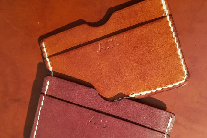 Learn Leathercraft & Make a Leather Card Case: Course + Kit