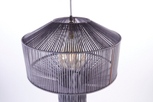 Load image into Gallery viewer, Handmade macramé lantern shade by Heather Orr
