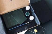 Load image into Gallery viewer, Make a Leather Card Wallet: Course + Kit