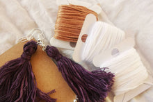 Load image into Gallery viewer, Natural Dye Earring Making Kit + Guide